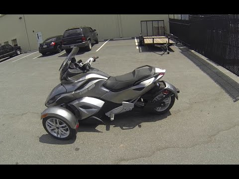 Can-Am Spyder ST SE5 Ride and Review -- Mountain Motorsports Marietta