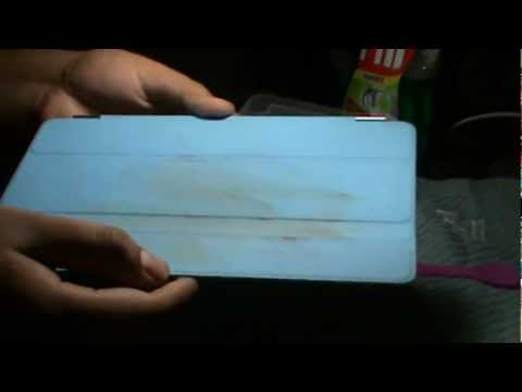 how to clean your ipad smart cover case youtube