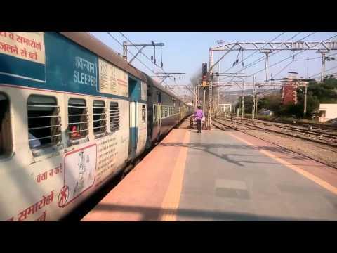 11041 - MUMBAI CST CHENNAI EXPRESS DEPARTS THANE