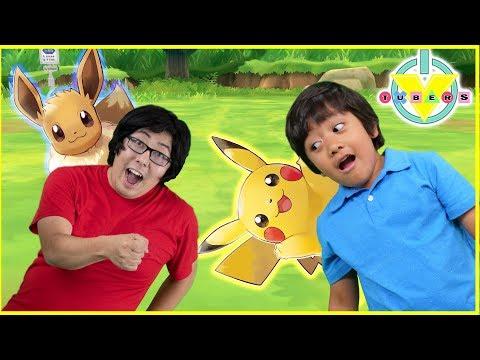 Ryan Plays Lets go Pikachu & Evee on Nintendo Switch