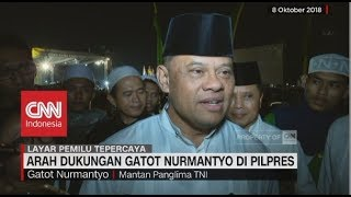 Download Video Arah Dukungan Gatot Nurmantyo di Pilpres 2019 MP3 3GP MP4