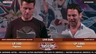 Yu-Gi-Oh! 2015 North American WCQ - Pegasus vs. Marik Scripted Duel