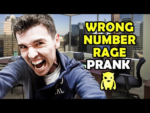 Wrong Number Rage Prank - Ownage Pranks
