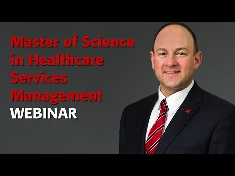 M.S. in Healthcare Services Management Webinar