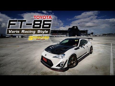 Toyota FT86 Varis Style By K-Motorsport & Shimasu
