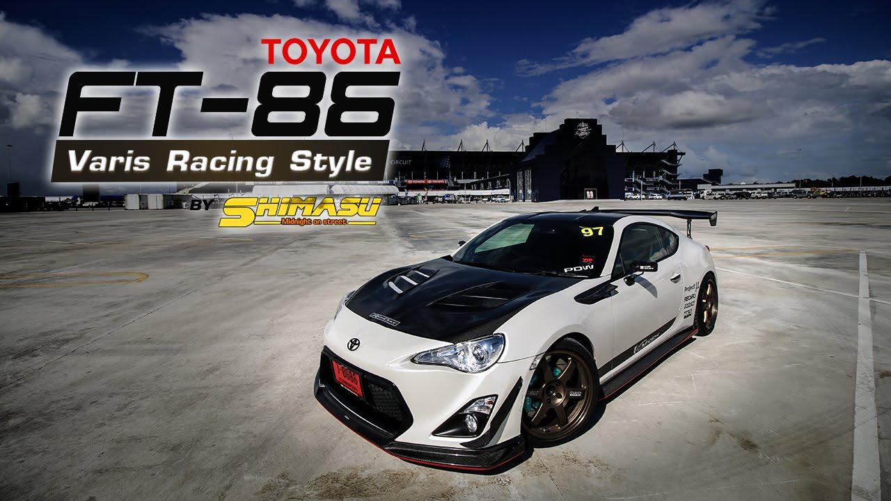 Toyota Ft86 Varis Style By K Motorsport Amp Shimasu Youtube