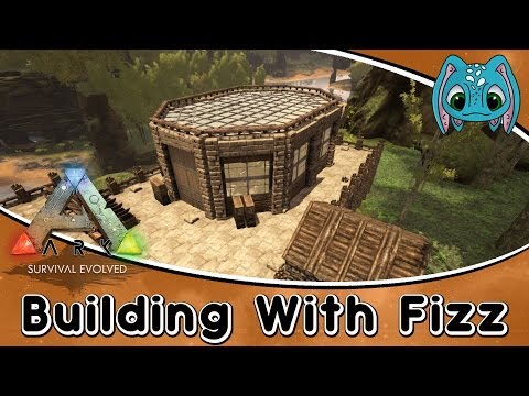 ARK:Survival Evolved Building w/ Fizz :: Modern Style GreenHouse Build