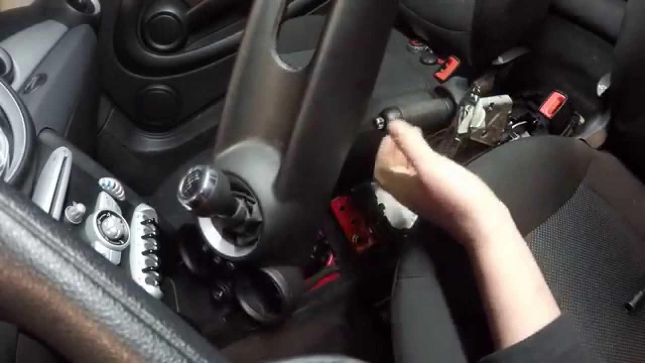 Mini Cooper Airbag Steuergerät Ausbauen