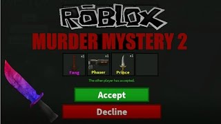 Roblox:Mord Geheimnis 2:FAN GIVES FREE GODLYS/CLASSICS