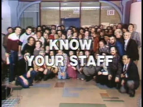 """Know Your Staff"" Collection on Late Night, 1982-84"