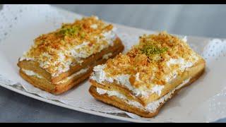 طرز تهیه شیرینی ناپلئونی کاملا با طعم و مزه قنادیهای ایران |Shirini Napeloni