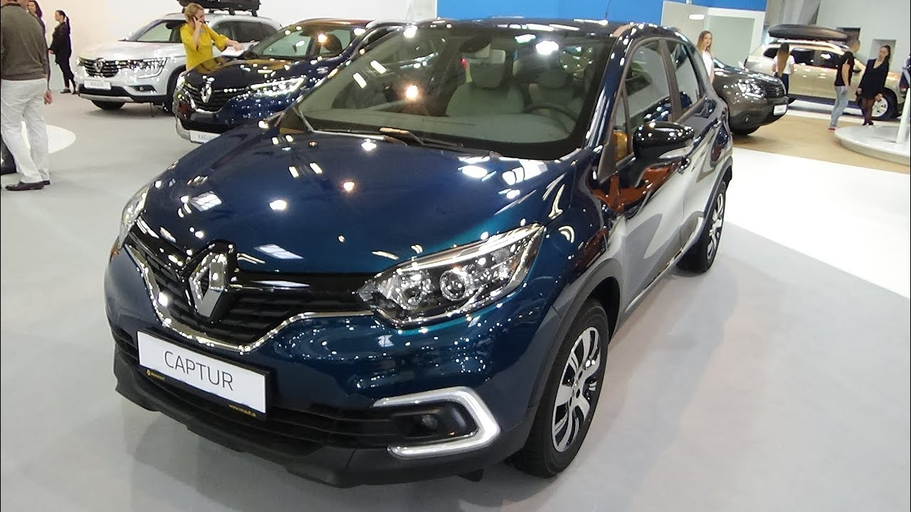 2018 Renault Captur Zen Energy Tce 90 Exterior And Interior