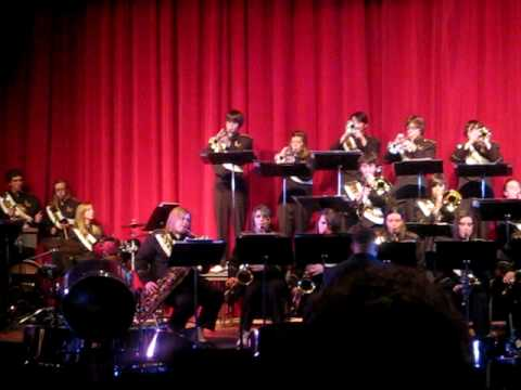 "John Marshall High School 2009 Jazz Ensemble, ""Hot Chocolate"""