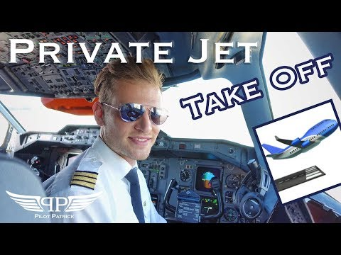 Take off Private Jet from Malta @pilotpatric