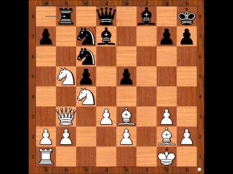 English Opening: Mikhail Tal vs Bozidar Ivanovic 1988