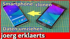 🎁 Neues Handy Smartphone Daten überspielen Apps, Dateien, Bilder übertragen Handy clonen  #267