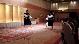 2013年北海道少林寺拳法連盟新年交礼会演武披露.MOV
