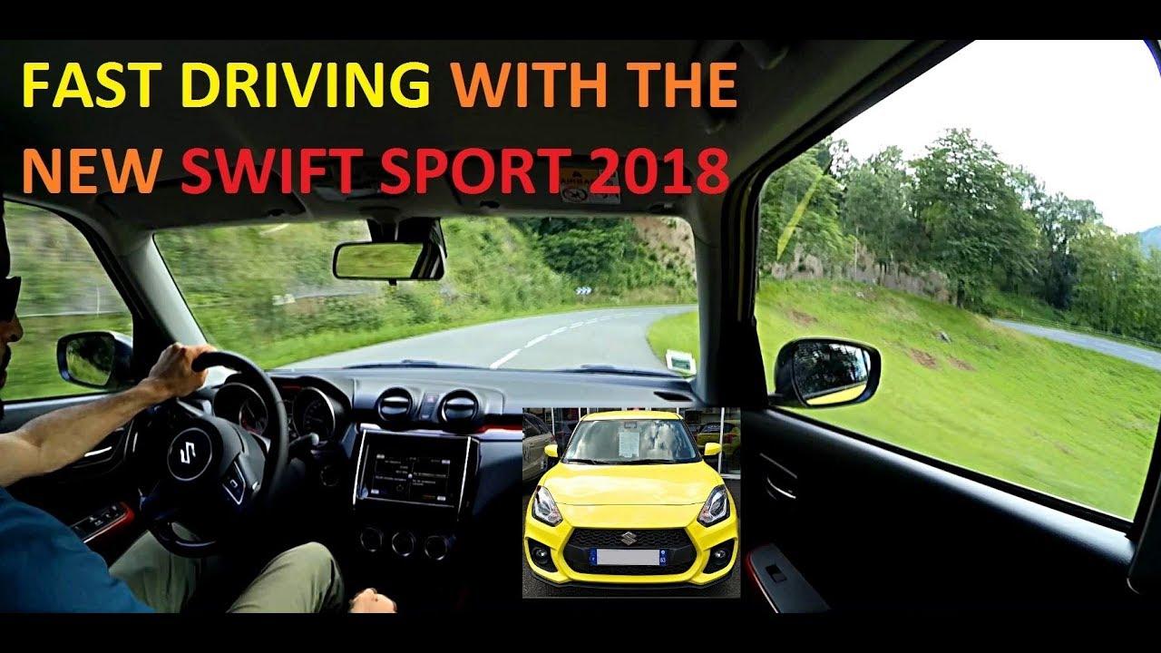 Suzuki Swift Sport 2020 FAST DRIVING
