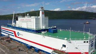 Из Мурманска на Чукотку отправляется первая в мире промышленная плавучая АЭС.