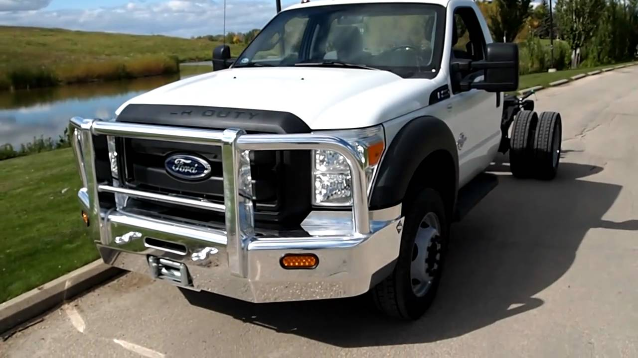 Herd Bumper For 2011 Ford F 450 And F 550 With Winch Mount