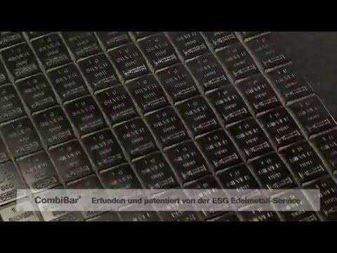 Silber CombiBar®, Tafelbarren aus Silber