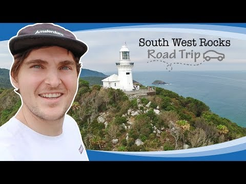 Whale Watching: South West Rocks, NSW Australia - Trial Bay Gaol And Smoky Cape Lighthouse