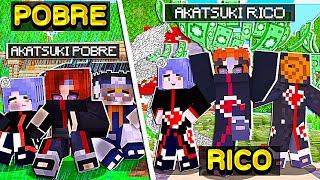 Download RICO VS POBRE DA AKATSUKI DE NARUTO SHIPPUDEN NO MINECRAFT!