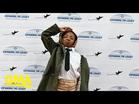 8-year-old Inspires With Bessie Coleman Project | GMA Digital