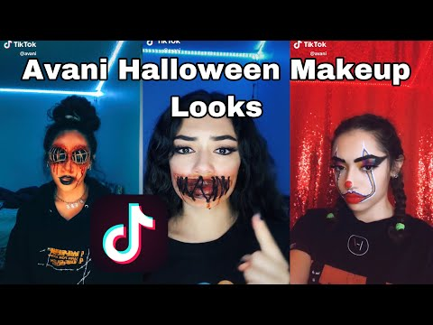 Avani Halloween Makeup Looks TikTok Compilation || Makeup, Transformations, & More!!