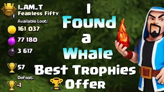 I FOUND A WHALE BASE    BEST TROPHIES OFFER    WHAT SHOULD I DO?