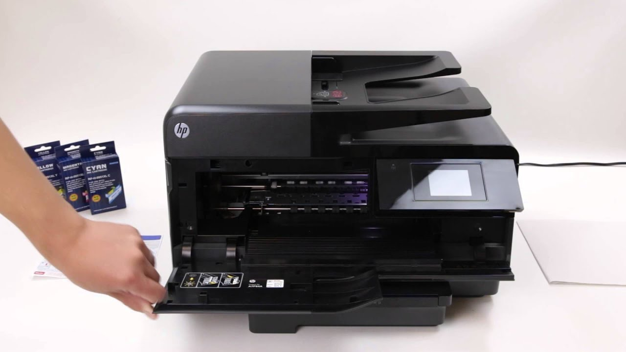 How To Install 950XL Compatible Ink Cartridges With Printer HP
