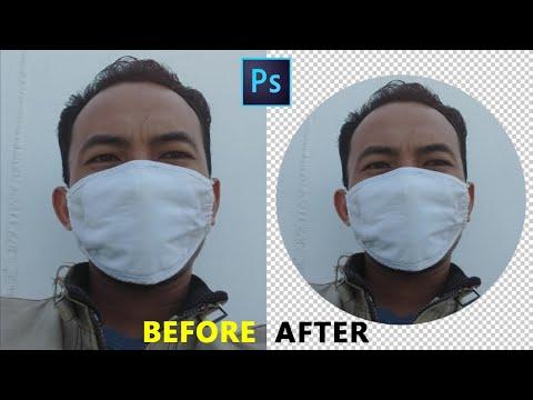 Inilah cara mudah menghapus background di photoshop cs6..