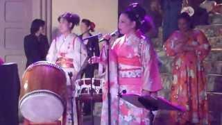 Tokyo Ondo and Hokkai Bon Uta Round 2-Minyo Station 6/17/13
