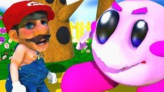 カービィ鬼のスマブラ!マリオvsカービィ Kirby Monster vs Mario