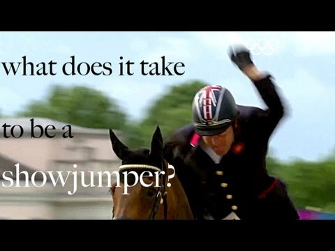 """what does it take to be a showjumper?"" 