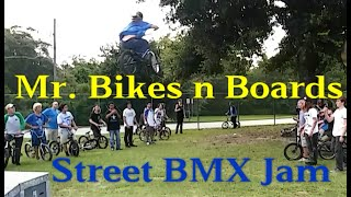 KZ BMX Webisode #1 Mr. Bikes n Boards street BMX Jam