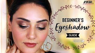 Eyeshadow 101: How To Apply Eyeshadow | Eyeshadow Guide For Beginners Ft. Simmy Goraya | Nykaa