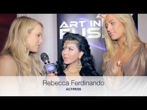 ART IN FUSION TV - INTERVIEWS - REBECCA FERDINANDO & HARRIADNIE BEAU