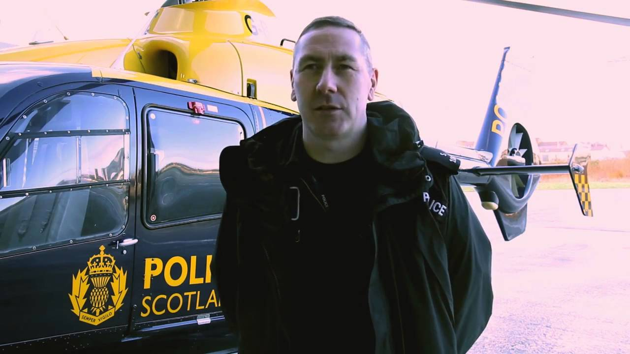 A Day in the Life: Police Scotland Air Support Unit - Police Scotland