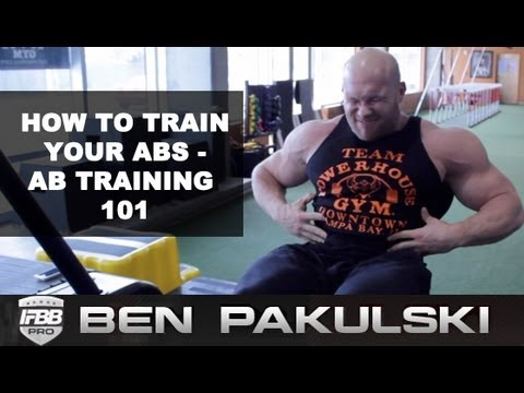 Ben Pakulski Ab Training 101 | How to Train Abs