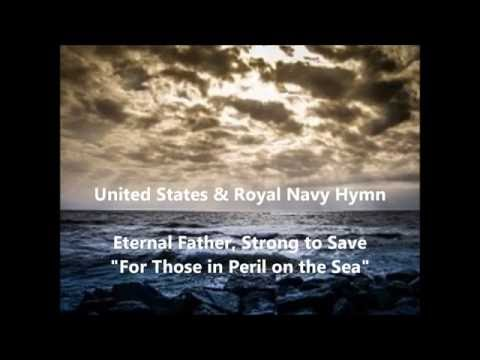 USA & ROYAL NAVY HYMN SONG ETERNAL FATHER Strong words lyrics