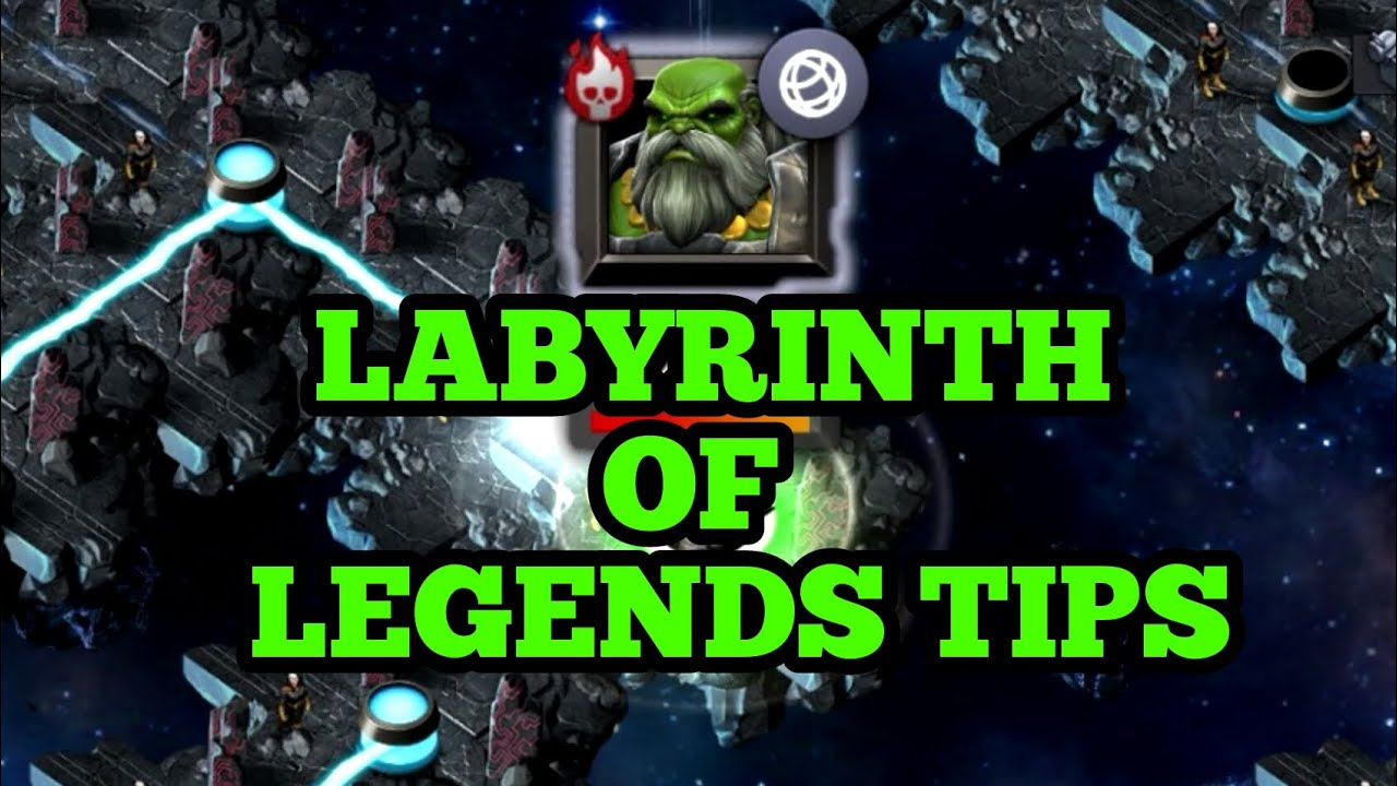 Labyrinth Of Legends Tips and Guide xxKYxx Interview Contest of Champions