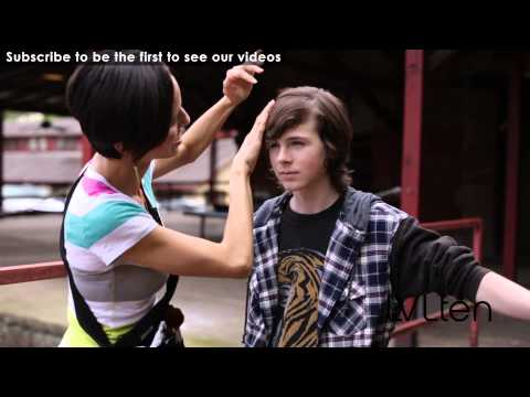 Chandler Riggs LVLten Photo Shoot
