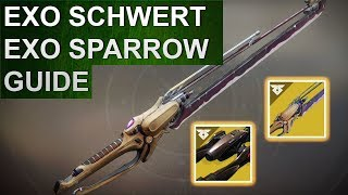 Destiny 2: Weltlinie Null Guide / Exo Sparrow Guide (Deutsch/German)