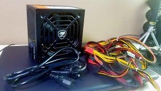 Збираємо Китайський Комп'ютер #7 Блок Живлення COUGAR ST500E 500W з 80% ефективністю TomTop