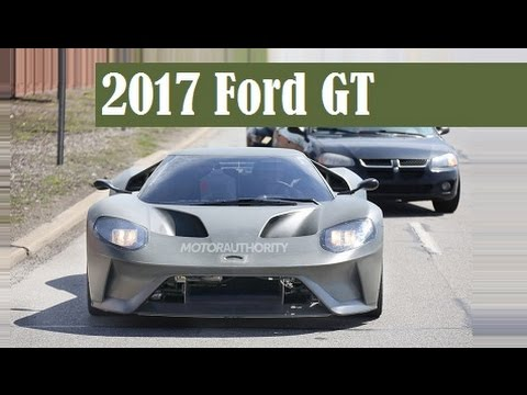 2017 Ford GT, caught once again testing in production trim
