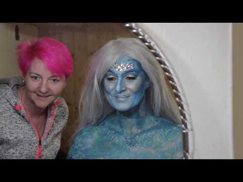 Making Of  Extrem Make Up Fotoshooting