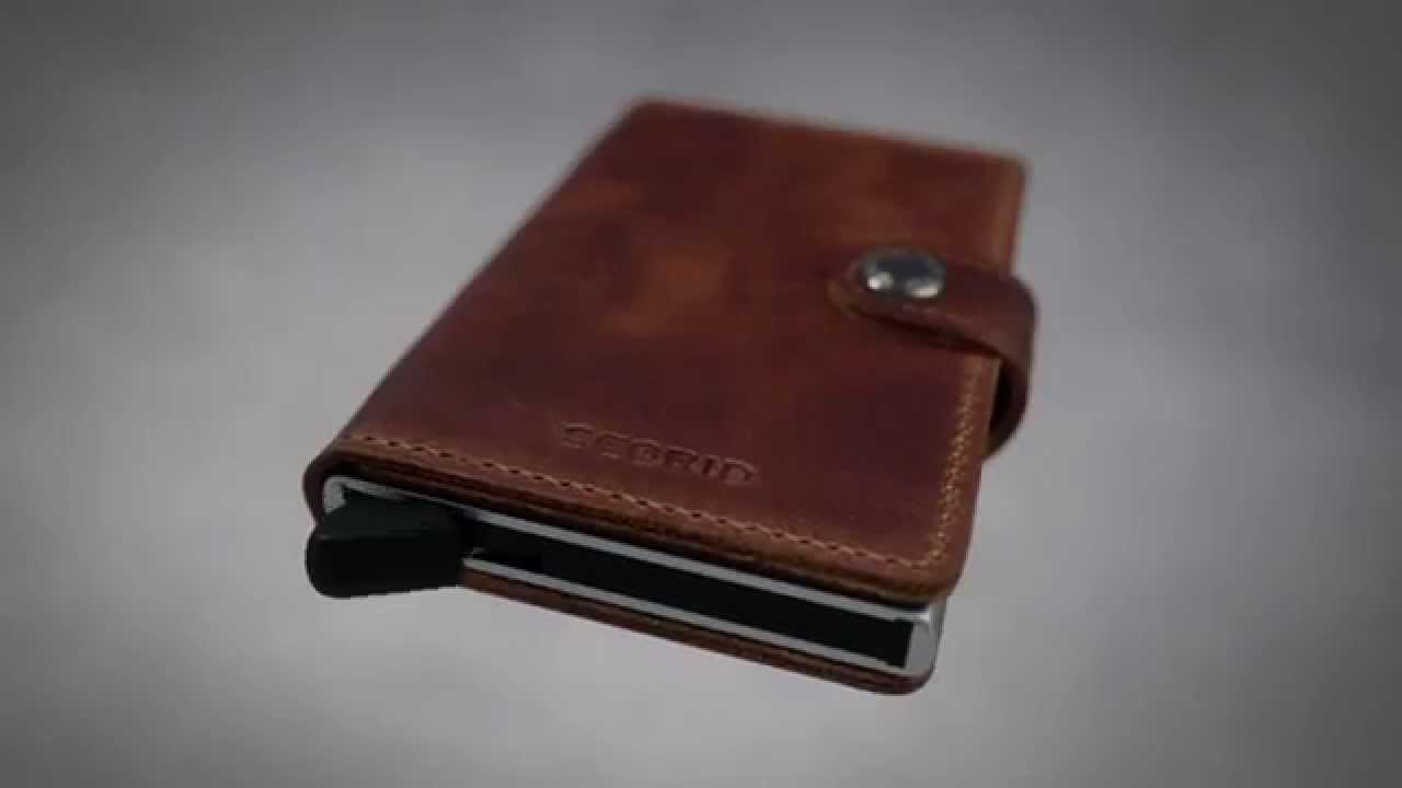 Portemonnee Alleen Pasjes.Secrid Mini Wallet Portemonnee Youtube