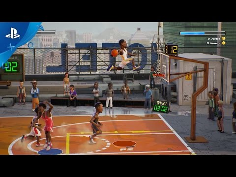 NBA Playgrounds – Gameplay Trailer | PS4