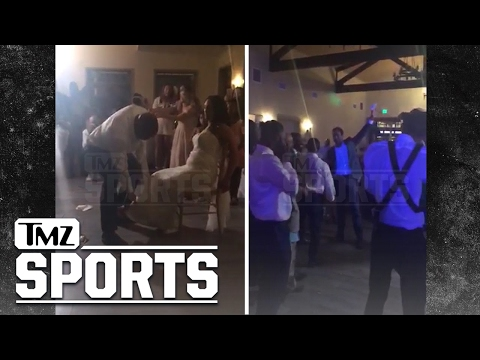 DANIEL CORMIER -- WEDDINGTOSSES WIFE'S GARTER ... Rockhold Gets the Prize! | TMZ Sports